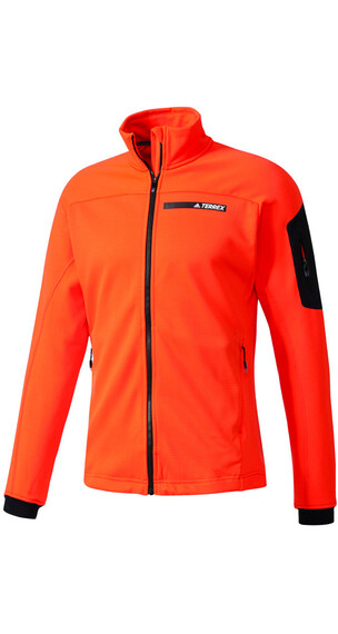 adidas TERREX Stockhorn Fleece Jacket Men energy